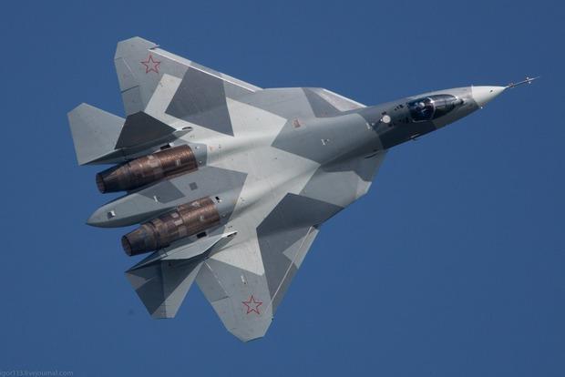 В следующем году Россия планирует принять на вооружение истребитель «пятого поколения»