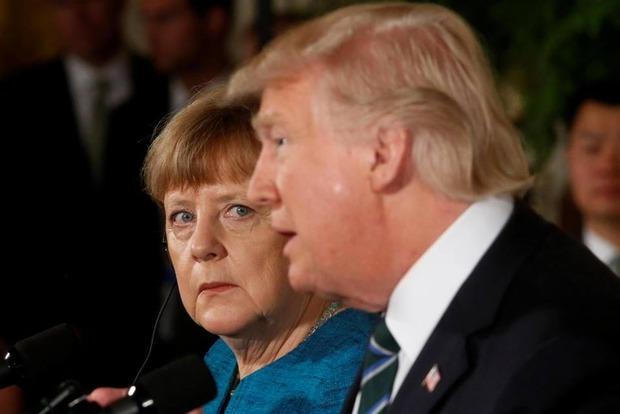 Трамп с 11-го раза понял слова Меркель об условиях торговой сделки с ЕС