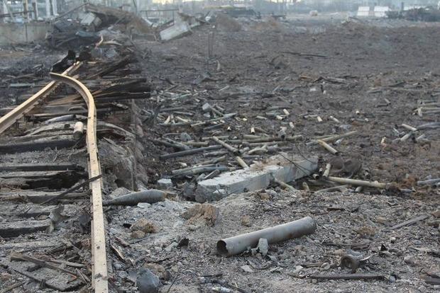 В Сватово продолжают взрывать снаряды