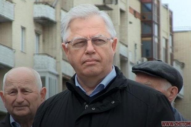 Симоненко отметил первомай в Житомире, не обошлось без потасовки