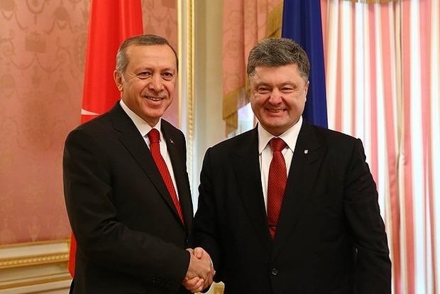 Президент Турции запланировал визит в Украину