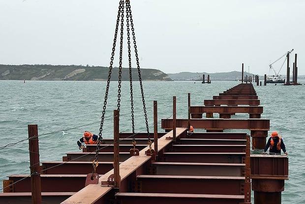 В России нет желающих строить железную дорогу к Керченскому мосту