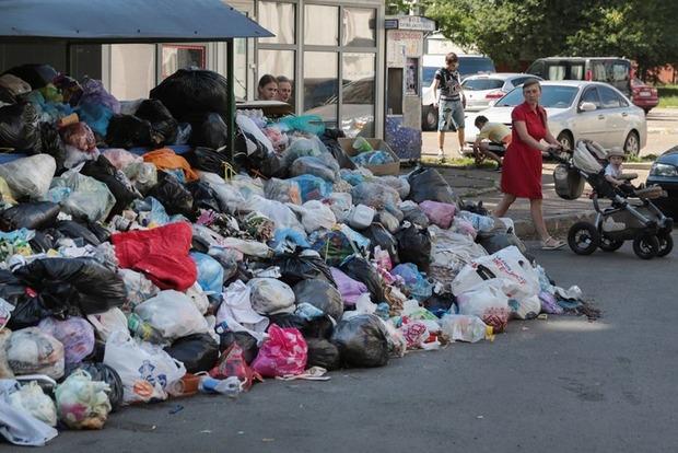 Во Львове с 1 сентября в два раза повышаются тарифы для населения на вывоз мусора