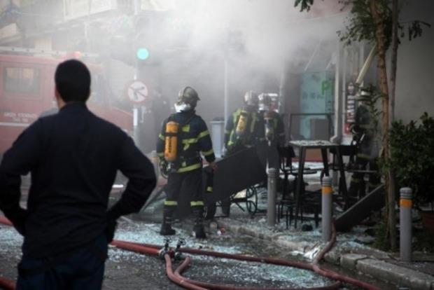 В центре Афин прогремел взрыв в кафе, погибла женщина