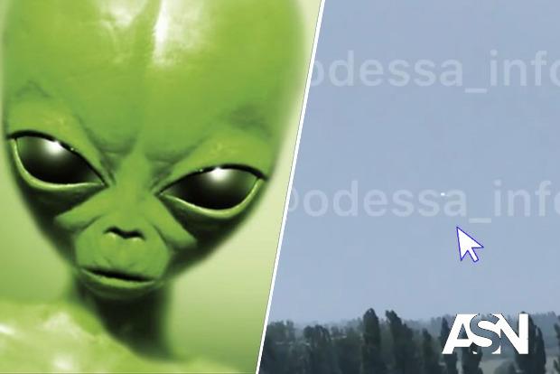 В Одессе сняли НЛО над спальным районом. Комментарии очевидцев