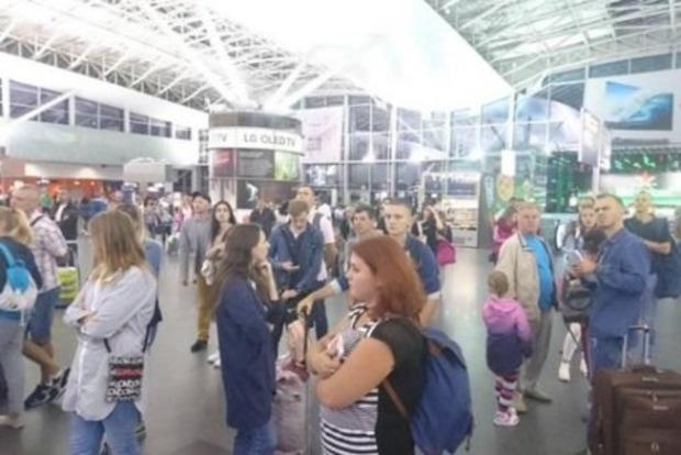 В «Борисполе» застряли 170 туристов