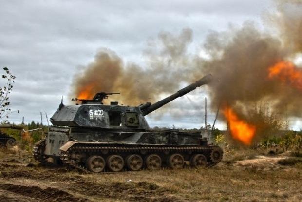 Миссия ОБСЕ обнаружила две 152-мм САУ сепаратистов (видео)
