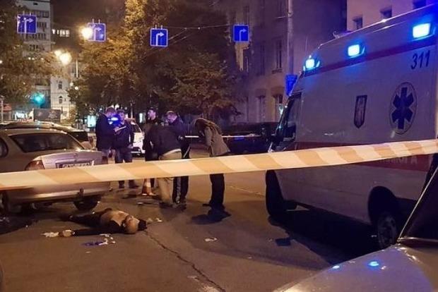 Убитый в центре Киева мужчина был иностранцем, - полиция