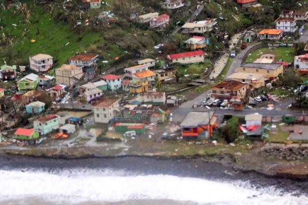 Девять человек стали жертвами урагана «Мария»