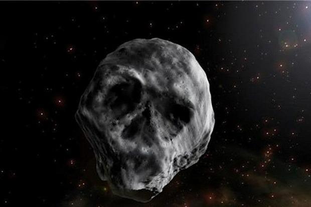 Жуткий астероид в форме черепа будет приближаться к Земле сразу после Хэллоуина
