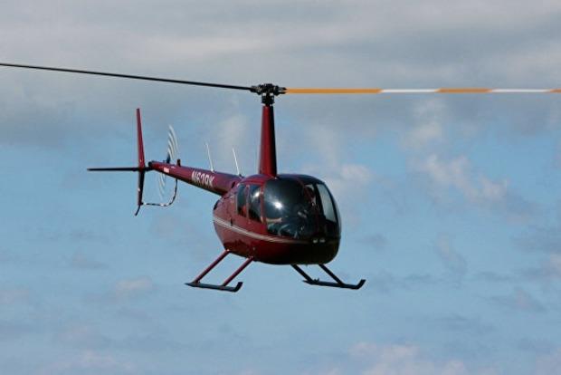 В России разбился вертолет, следивший за лесными пожарами