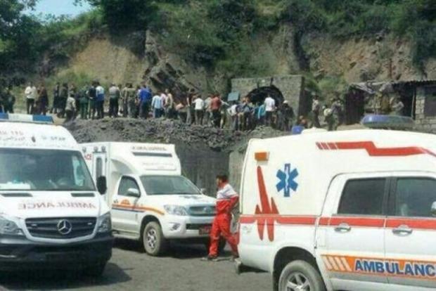 З'явилося відео смертельного вибуху на шахті в Ірані