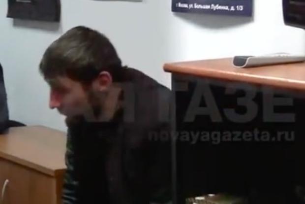 Опубликовано видео допроса подозреваемых в убийстве Немцова