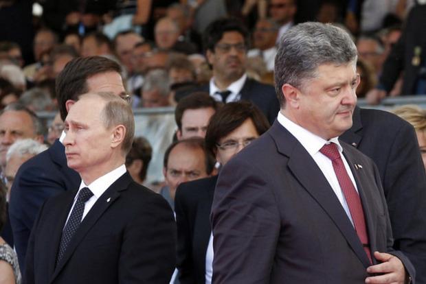 У Путина бурно отреагировали на слова Порошенко о «немытой России»