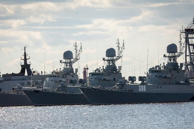 В Санкт-Петербурге из-за американского эсминца отменили морской парад