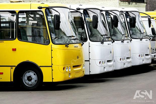УТернополі страйк водіїв маршруток