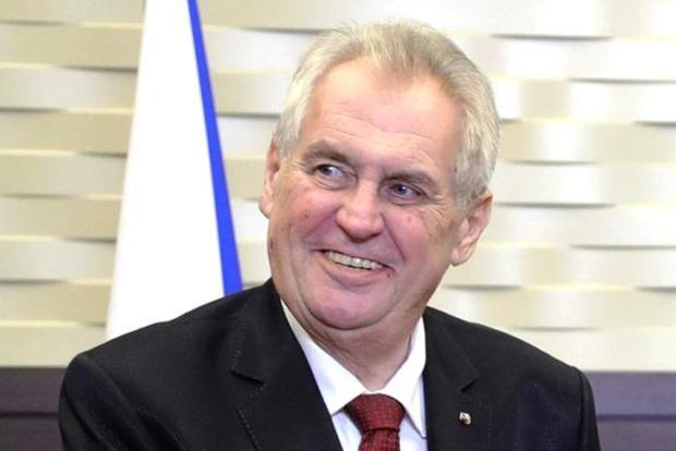 Мілош Земан знову обраний президентом Чехії