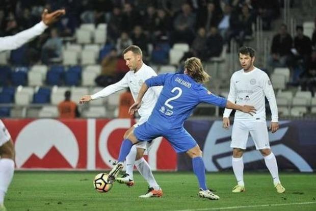 Шевченко, Тотти, Ривалдо и иные звезды забили вблаготворительном матче вТбилиси