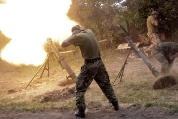 Штаб АТО: Боевики нарушают перемирие, один боец ВСУ ранен