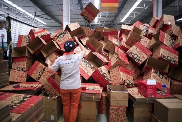 11.11: Alibaba продала товаров на 1,5 миллиарда долларов за 2 минуты
