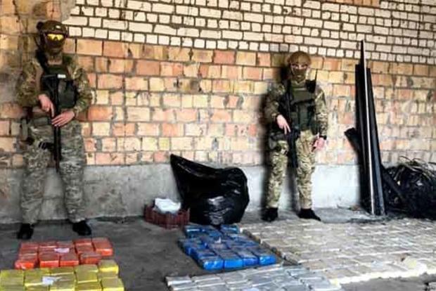 У Київській області поліція вилучила 600 кг героїну
