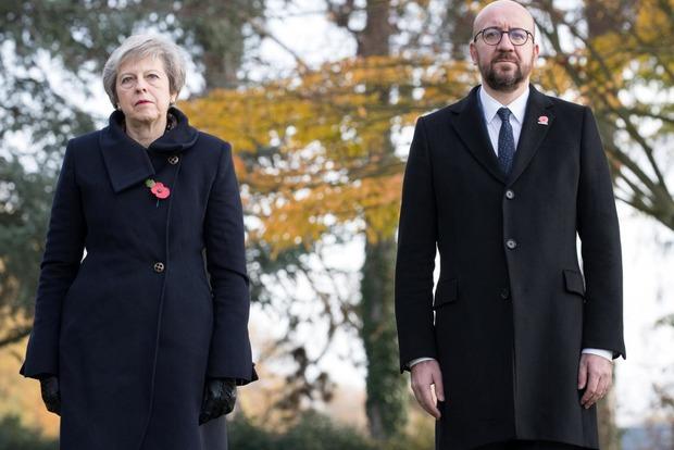 Премьеры Британии и Бельгии попали в ДТП из-за тормоза