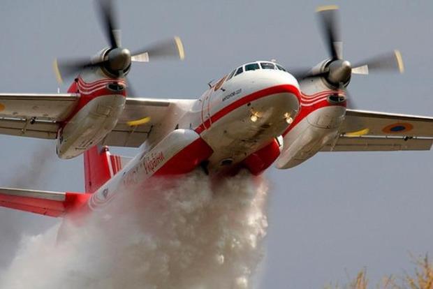 Украина не может применить авиацию для тушения пожаров на Луганщине