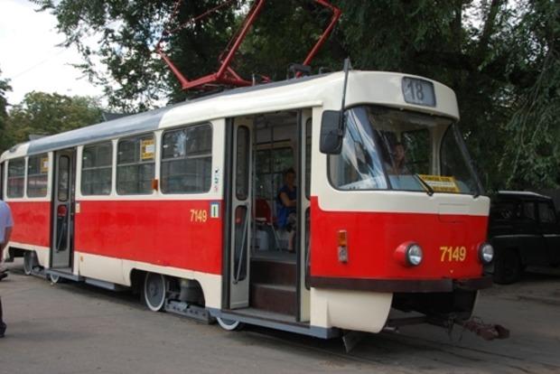 В Одессе водитель трамвая выехал на маршрут пьяным