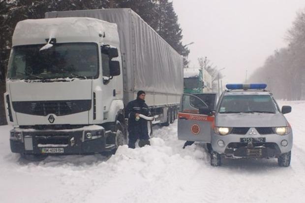 Въезд крупногабаритного транспорта в Киев 2 декабря будет ограничен из-за снегопада