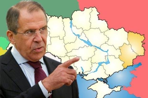Лавров признал участие России в конфликте на Донбассе