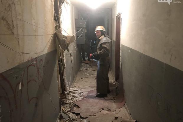 В Кривом Роге произошел взрыв в многоэтажном доме