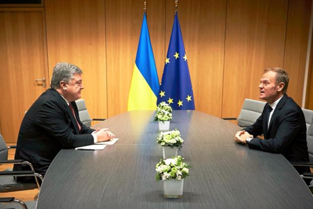Туск пообещал, что ЕС никогда не признает оккупацию Крыма