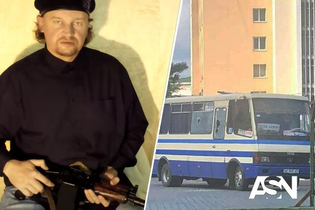 В центре Луцка захвачен автобус с заложниками (обновлено)