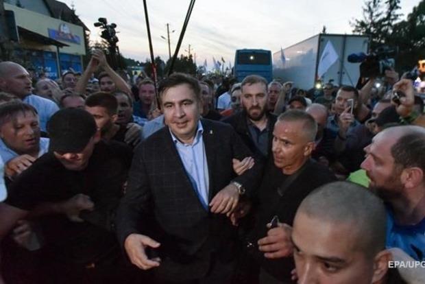 МВД: Саакашвили незаконно находится в Украине, но оснований для задержания мало
