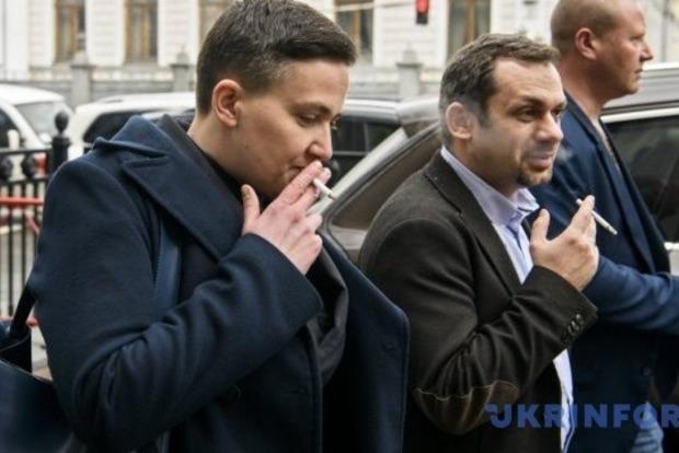 Савченко говорит, что вышла из сессионного зала ВР сама
