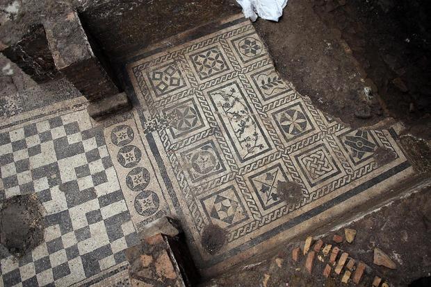 В Риме при строительстве метро нашли дом генерала II века