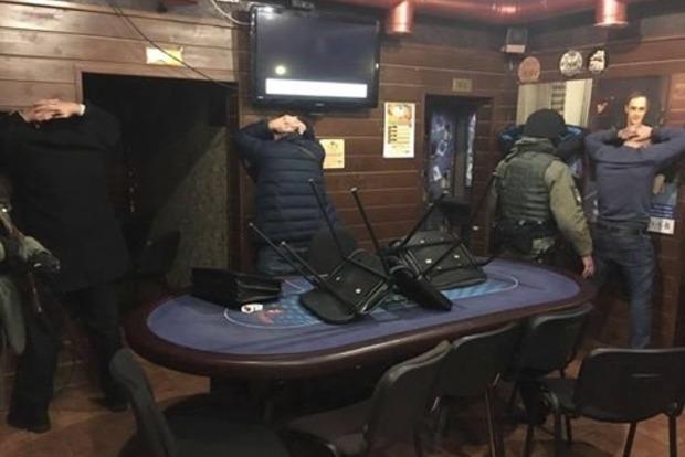 В киевском отеле накрыли подпольное казино
