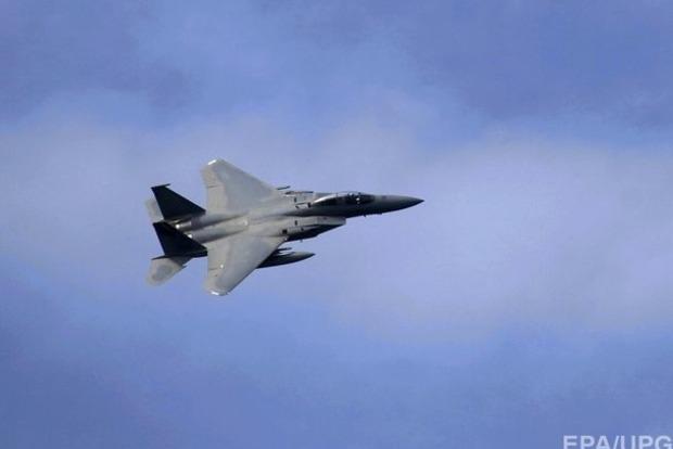 Американский истребитель F-15 упал в море у берегов Японии