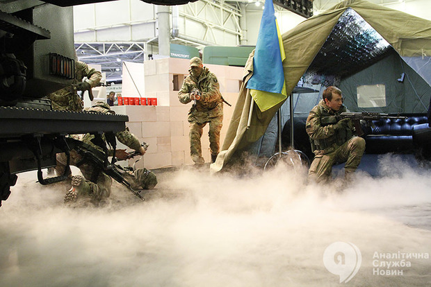 Стартовали совместные украинско-американские военные учения