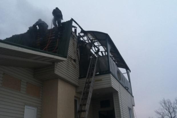 На Харьковщине горела детская спортивная школа