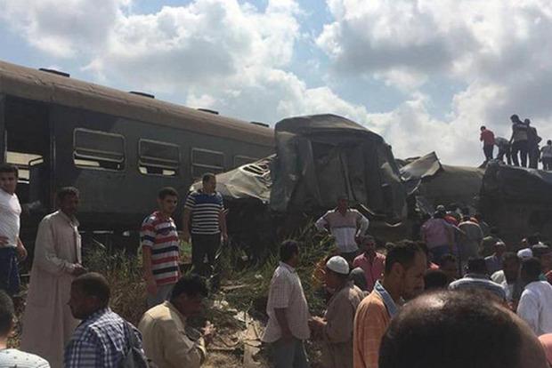Зіткнення поїздів у Єгипті: число жертв зросло до 29