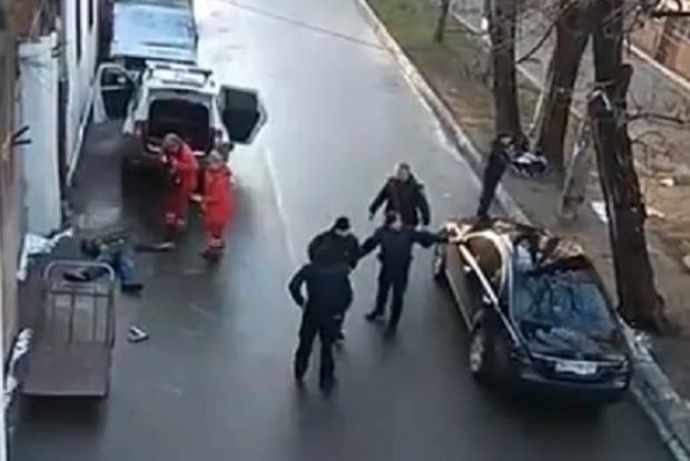 Вцентре Одессы произошла стрельба с 2-мя погибшими