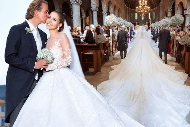 Платье за $1 миллион. Дочь владельца компании Swarovski вышла замуж