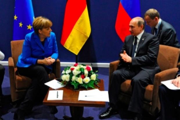 В Сочи начались переговоры Путина и Меркель