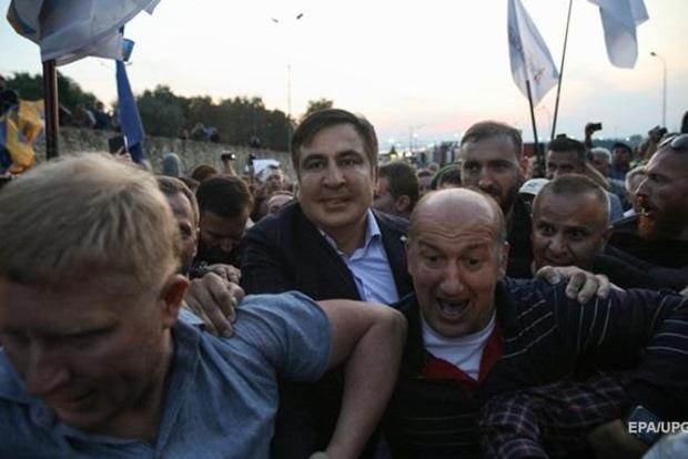 Нацполиция задержала сторонника Саакашвили, избившего пограничников - Геращенко
