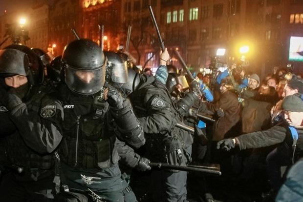 Потерпевшего по делу Майдана ранили из автомата беглого экс-беркутовца