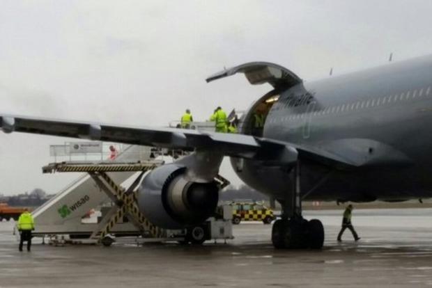 В Германию доставили раненых бойцов АТО