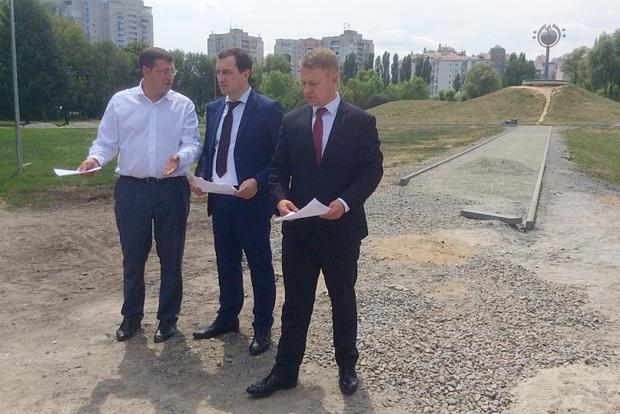 Как глава и прокурор Киевской области искали и не нашли парк в Броварах