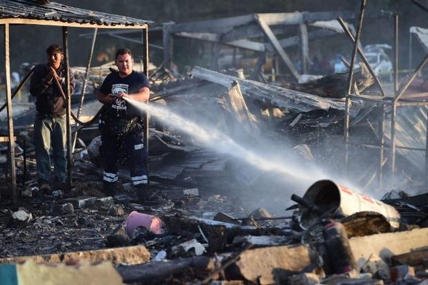 На рынке фейерверков в Мексике погиб 31 человек