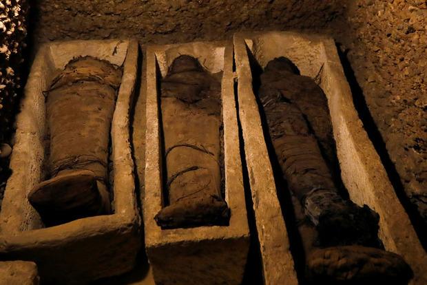 В Египте обнаружили некрополь с десятками мумий